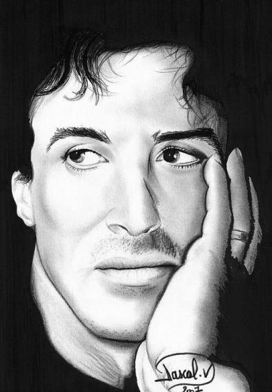 Sylvester Stallone by pascalou35